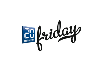»20 Minuten Friday« Logo